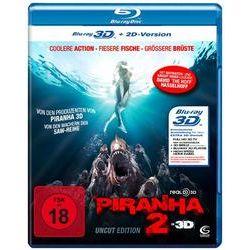 Film: Piranha 2 - 3D - uncut  von John Gulager mit David Hasselhoff, Gary Busey, Ving Rhames, Christopher Lloyd, Katrina Bowden