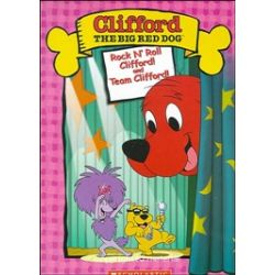 Clifford The Big Red Dog: Rock N' Roll Clifford/Team Clifford (DVD 2004)