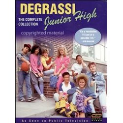 Degrassi: Junior High - The Complete Series (DVD 1989)