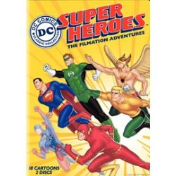DC Super Heroes: The Filmation Adventures (DVD 2008)