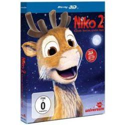 Film: Niko 2 - Kleines Rentier, großer Held - 3D  von Kari Juusonen, Jørgen Lerdam mit Yvonne Catterfeld, Klaus-Dieter Klebsch