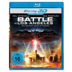 Film: Battle of Los Angeles - 3D  von Mark Atkins von Mark Atkins mit Kel Mitchell, Nia Peepless
