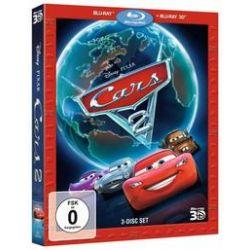 Film: Cars 2 (3D + 2D Blu-ray)  von Dan Fogelman, Brad Lewis, John Lasseter, Ben Queen von John Lasseter mit Thomas Kretschmann, Joe Mantegna, Brent Musburger, John Turturro, Eddie Izzard, Emily