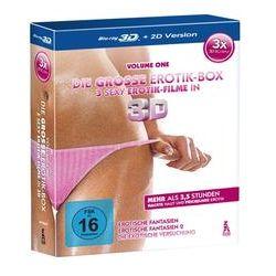 Film: Die große Erotik-Box - 3D (Blu-ray)  von Moli mit Wanita Tan, Tarra White, KimKim De, Sinthia Stone, Tyra Misoux