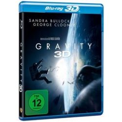 Film: Gravity (3D Blu-ray)  von Jonás Cuarón von Alfonso Cuarón mit Sandra Bullock, George Clooney