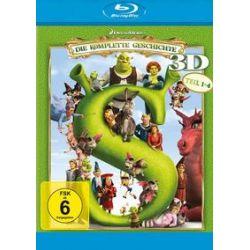 Film: Shrek: Die kompl. Geschichte Quad 3D BD (Blu-ray)  von Andrew Adamson, Vicky Jenson, Kelly Asbury, Conrad Vernon, Chris Miller, Raman Hui, Mike Mitchell mit Shrek-Der tollkühne Held:Mike