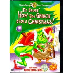 Dr. Seuss' How The Grinch Stole Christmas / Horton Hears A Who (DVD 1966)