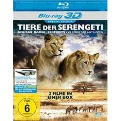 Film: Tiere Der Serengeti (3D-Special Edition)  mit Blu-Ray Disc 3d