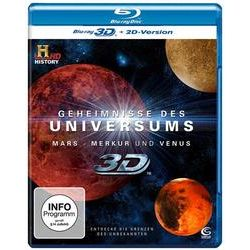 Film: Geheimnisse des Universums: Mars / Merkur / Venus - 3D  von Geheimn. D. Univ.: Mars/Merkur