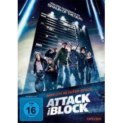 Film: Attack the Block  von Joe Cornish mit Nick Frost, Jodie Whittaker, John Boyega, Luke Treadaway, Alex Esmail, Leeon Jones, Jumayn Hunter, Franz Drameh