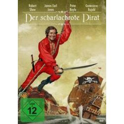 Film: Der scharlachrote Pirat  von James Goldstone mit Robert Shaw, James Earl Jones, Peter Boyle, Geneviève Bujold, Beau Bridges, Geoffrey Holder, Avery Schreiber, Tom Clancy, Anjelica Huston,