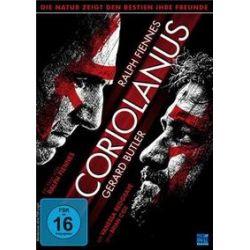 Film: Coriolanus, 2 DVD  von Ralph Fiennes mit Ralph Fiennes, Gerard Butler, Vanessa Redgrave, Jessica Chastain, Brian Cox, James Nesbitt