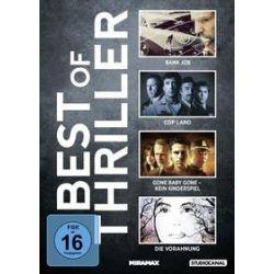 Film: Best of Thriller  von Roger Donaldson, James Mangold, Mennan Yapo, Ben Affleck mit Sandra Bullock, Ben Affleck, Sylvester Stallone, Jason Statham