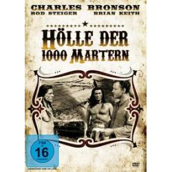 Film: Hölle der 1000 Martern  von Samuel Fuller mit Rod Steiger, Sara Montiel, Brian Keith