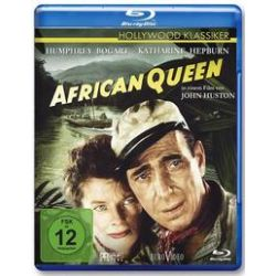 Film: African Queen  von John Collier, Peter Viertel, John Huston, James Agee, C. S. Forester von John Huston von Humphrey Bogart, Katharine Hepburn mit Humphrey Bogart, Katharine Hepburn, Robert