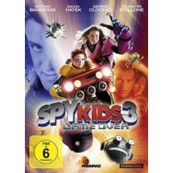 Film: Spy Kids 3 - Game Over  von Robert Rodriguez von Robert Rodriguez mit Antonio Banderas, Sylvester Stallone, George Clooney, Salma Hayek