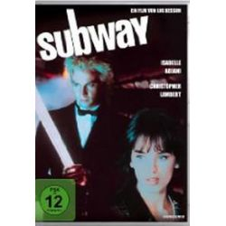 Film: Subway (DVD)  von Luc Besson, Isabelle Adjani, Christopher Lambert, Richard Bohrinter von Luc Besson von Isabelle Adjani, Christophe Lambert mit Isabelle Adjani, Christopher Lambert, Richard
