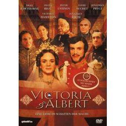 Film: Victoria & Albert  von John Goldsmith von John Erman von Hamilton, Firth, Ustinov, Rigg mit Victoria Hamilton, Jonathan Firth, Peter Ustinov, Diana Rigg