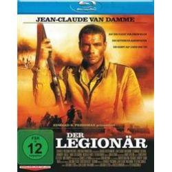 Film: Der Legionär (Blu-ray)  von Rebecca Morrison, Jean Claude Van Damme, Sheldon Lettich von Peter Mac Donald mit Jean Claude Van Damme, Adwale Akinnuoye-Agbaje, Steven Berkoff