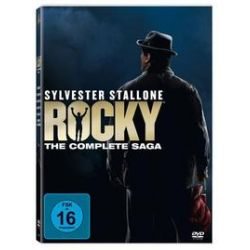 Film: Rocky - The Complete Saga, 6 DVD  von Sylvester Stallone mit Sylvester Stallone, Talia Shire, Burt Young, Carl Weathers, Burgess Meredith