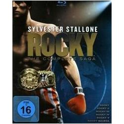 Film: Rocky - The Complete Saga  von Sylvester Stallone von Sylvester Stallone mit Sylvester Stallone, Talia Shire, Burt Young, Carl Weathers, Burgess Meredith, Thayer David, Joe Spinell, Jimmy