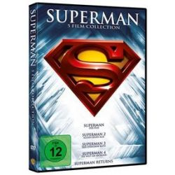 Film: Superman - Die Spielfilm Collection, 5 DVD  mit Siehe Einzeltitel