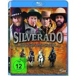 Film: Silverado  von Mark Kasdan von Lawrence Kasdan mit Lawrence Kasdan, Kevin Kline, Kevin Costner, Jeff Goldblum