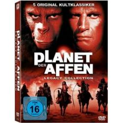 Film: Planet der Affen - Legacy Collection  von Don Taylor, J. Lee Thompson mit Charlton Heston, Roddy McDowall, Kim Hunter, Maurice Evans, James Whitmore, James Daly