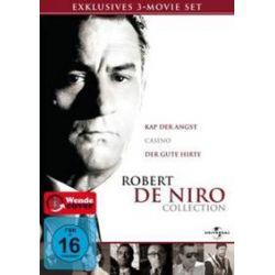 Film: Robert De Niro Collection, 3 DVD  von Wesley Strick, James R. Webb, John D. MacDonald, Eric Roth, Martin Scorsese, Nicholas Pileggi mit Robert de Niro, Nick Nolte, Jessica Lange, Juliette