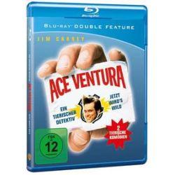 Film: Ace Ventura & Ace Ventura 2  von Steve Oedekerk, Jim Carrey, Jack Bernstein, Tom Shadyac von Tom Shadyac, Steve Oedekerk mit Jim Carrey, Courteney cox, Sean Young, Tone Loc, Dan Marino, Noble