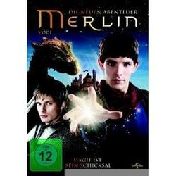 Film: Merlin-Vol.1  von Ed Fraiman von Richard Wilson Colin Morgan Bradley James mit Colin Morgan, Bradley James, Richard Wilson