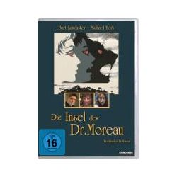 Film: Die Insel des Dr. Moreau  von John Herman Shaner, Al Ramrus von Don Taylor von Burt Lancaster, Michael York mit Burt Lancaster, Michael York, Nigel Davenport