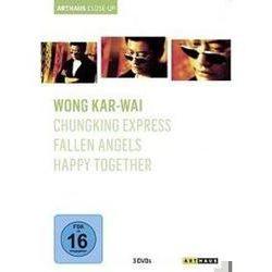 Film: Wong Kar-Wai - Arthaus Close-Up, 3 DVD  von Wong Kar-Wai von Wong Kar-Wai mit Leon Lai-ming, Takeshi Kaneshiro, Leslie Cheung
