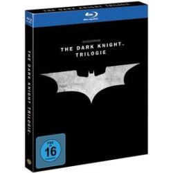 Film: The Dark Knight Trilogy (Blu-ray)  von Bob Kane, David S. Goyer, Christopher Nolan von Christopher Nolan mit Ken Watanabe, Rutger Hauer, Tom Wilkinson, Cillian Murphy, Gary Oldman, Katie