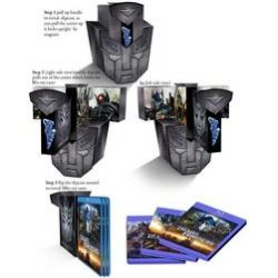Film: Transformers 1-3 - Limited Autobot Collection  von Ehren Kruger, John Rogers, Alex Kurtzman, Roberto Orci von Michael Bay mit Shia LaBeouf, Rosie Huntington-Whiteley, Megan Fox, Tyrese Gibson
