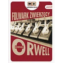 Folwark zwierzęcy - książka audio na 1 CD (CD) - George Orwell