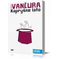 Literatura czeska, tom 13. Kapryśne lato (+DVD) (druk/DVD) - Vladislav Vancura