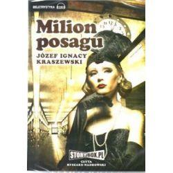Milion posagu - książka audio na CD (CD) - Józef Ignacy Kraszewski