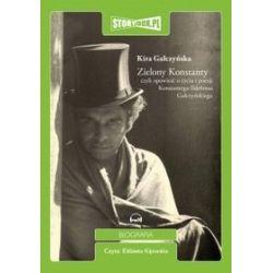 Zielony Konstanty - książka audio na CD (CD) - Kira Gałczyńska