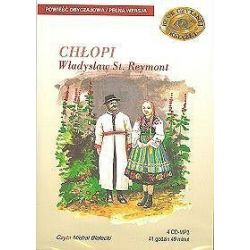 Chłopi - książka audio na 4 CD (CD) - Władysław Stanisław Reymont, Władysław Reymont