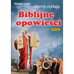 Biblijne opowieści - ksiązka audio na 1 CD (CD) - Magdalena Kuczyńska,