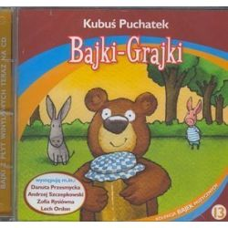 Bajki - grajki - numer 13. Kubuś puchatek - książka audio na 1 CD (CD) - Antoni Marianowicz