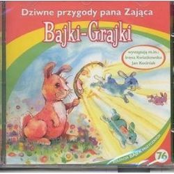 Bajki - grajki - numer 76. Dziwne przygody pana Zająca - ksiązka audio na CD (CD)