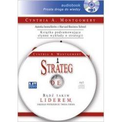 Strateg - książka audio na CD (CD) - Cynthia Montgomery