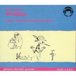 Pinokio - ksiązka audio na 4 CD (CD) - Carlo Collodi