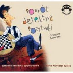 Powrót Detektywa Pozytywki - książka audio na CD (CD) - Grzegorz Kasdepke