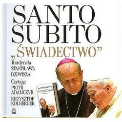 Świadectwo. Santo Subito - książka audio na 1 CD - Stanisław Dziwisz