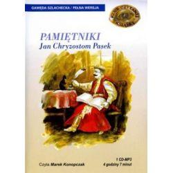 Pamiętniki - książka audio na 1 CD (CD) - Jan Chryzostom Pasek