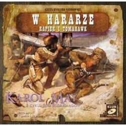 Ród Rodrigandów, tom 4. W Hararze. Rapier i tomahawk - Książka audio na CD (CD) - Karol May