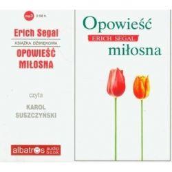 Opowieść miłosna - książka audio na 2 CD (CD) - Erich Segal